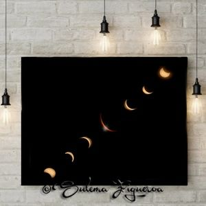 """Ray's Eclipse"" Series by Sulema Figueroa."